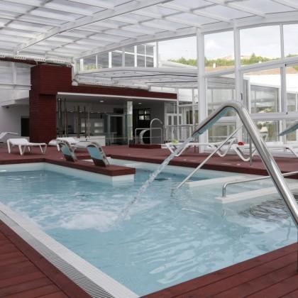 Circuito de Hidroterapia Congreso SPA en Santiago de Compostela