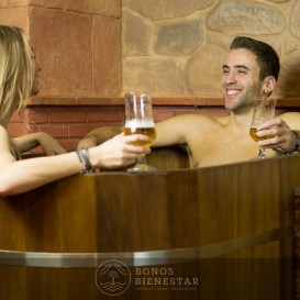 Circuito Spa Premium para Casal no Beer Spa Alicante