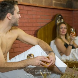 Circuito Beer Spa con Massagem em Casal no Beer Spa Alicante