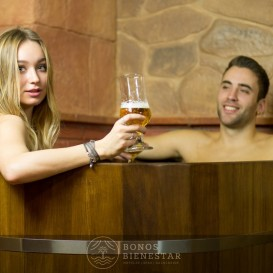 Circuito Beer Spa en Pareja en el Beer Spa Alicante