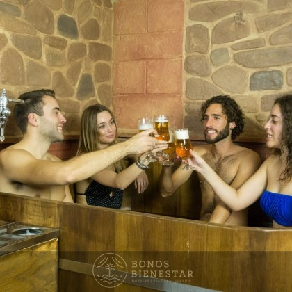 Circuito Beer Spa para Estudiantes en el Beer Spa Alicante