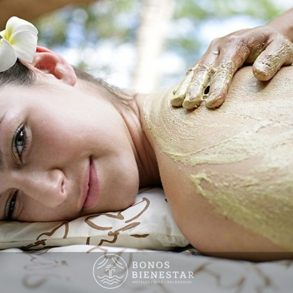 Bono Regalo de Masaje Esencias Naturales Parcial en el Spa Aqua Center Benidorm del hotel Deloix