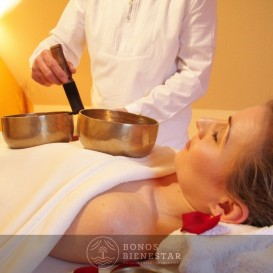 Bono Regalo de Tratamiento Shanara con Cuencos Tibetanos en el Spa Aqua Center Benidorm del hotel Deloix