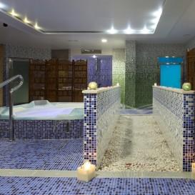 Circuito Deloix en el Spa Aqua Center Benidorm del hotel Deloix