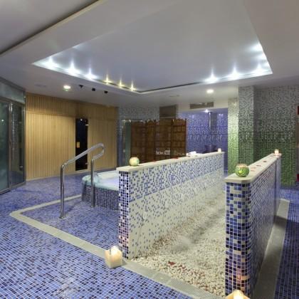 Circuito Benidorm en el Spa Aqua Center Benidorm del hotel Deloix