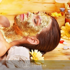 Voucher de Masagem e Envoltura de Ouro no Spa Five Senses Granada