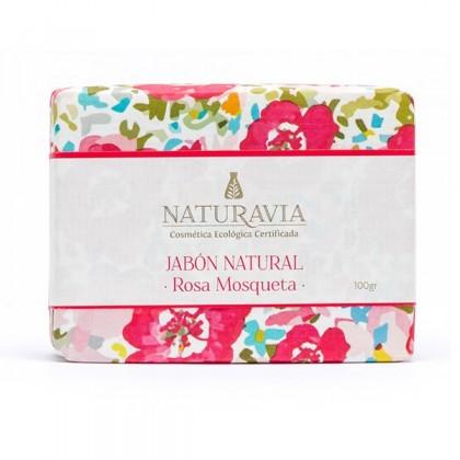 Sabonete Natural Rosa Mosqueta de Naturavia