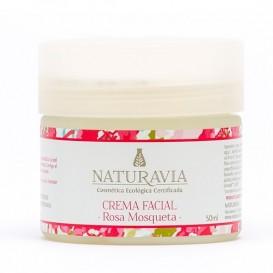 Crema Facial Natural Rosa Mosqueta de Naturavia