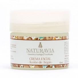 Creme Facial Natural de Oleo de Argao de Naturavia