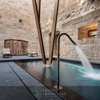 Bono SPA en Eurostars Monumento Monasterio de San Clodio Hotel & Spa