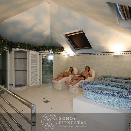 Vocuher presente de Escapada Relax no hotel Balneario Puente Viesgo de Cantabria