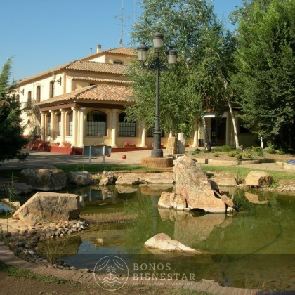Vale-presente Almoço ou Jantar no Balneario Cervantes em Ciudad Real