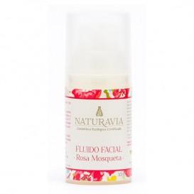 Fluido Facial Rosa Mosqueta de Naturavia