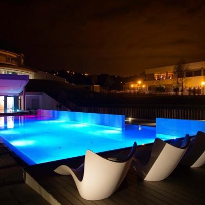 Bono regalo Centro Aquaxana Nocturno para 2 personas en Las Caldas Villa Termal