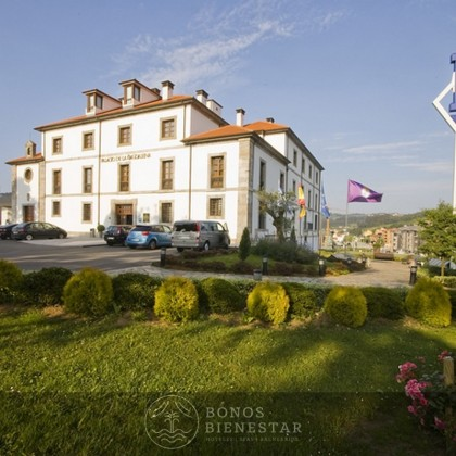 Vale-presente Completo Massagem Completo no Hotel Palacio de la Madalena Asturias