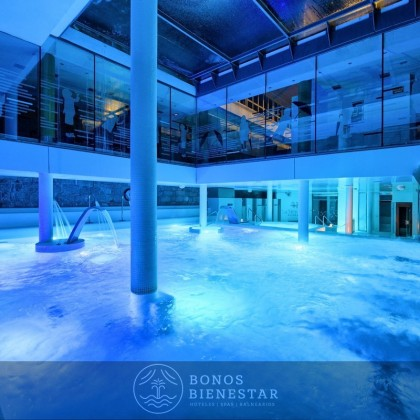 Bono Regalo una noche con circuito en Balneario La Hermida