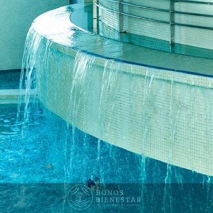 Alojamento, Circuito de Augas e Massagem do Hotel Spa Aqua Center Deloix
