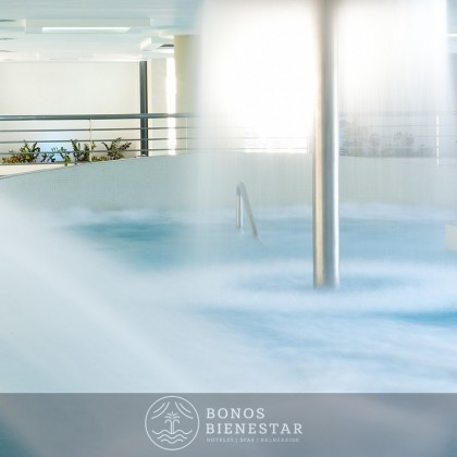Presente 2 Pessoas de Circuito, Massagem 25' e Jantar Spa Aqua Center Benidorm