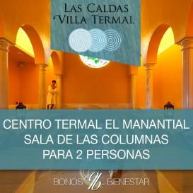 Boucher Sala Las Columnas e El Manantial para 2 pessoas em Las Caldas